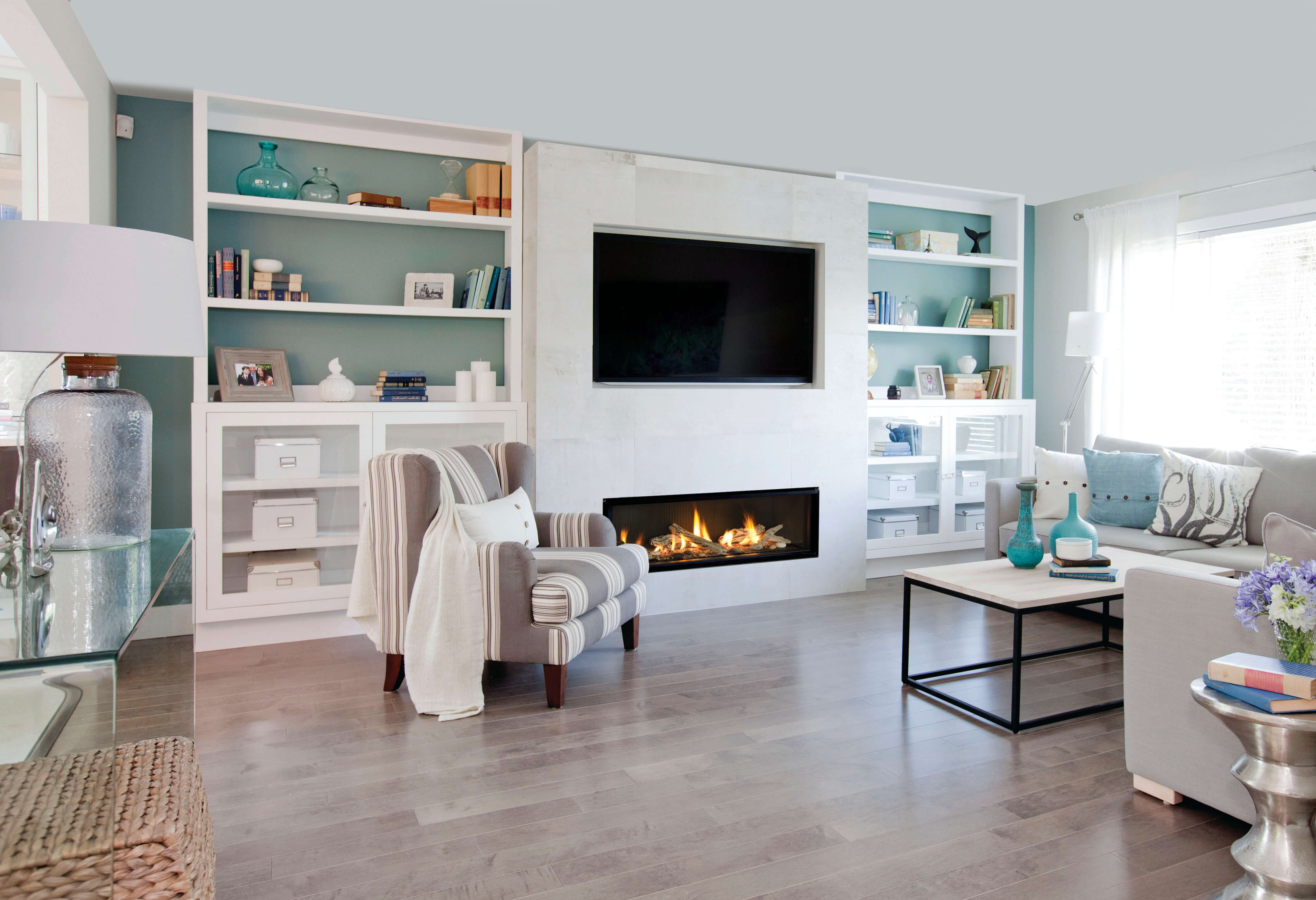 L2 Linear Series with Driftwood